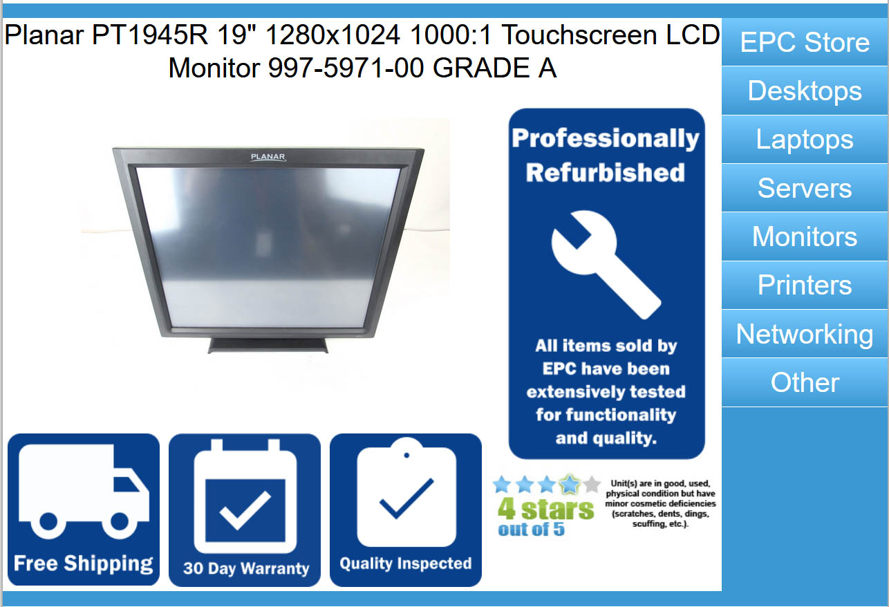 E-bay Budget Tormach Compatible Path Pilot Touch Screen