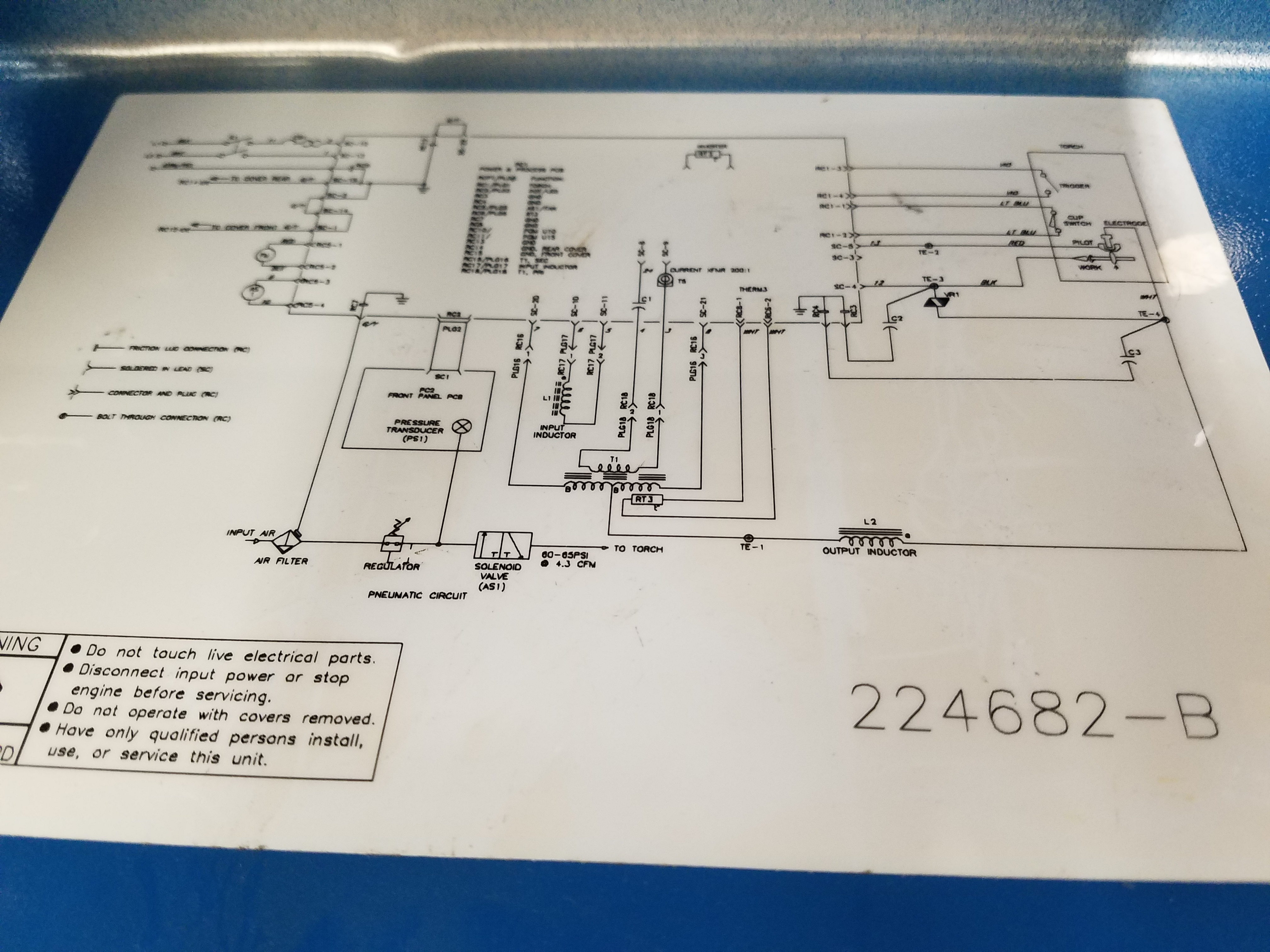 Miller Spectrum 375 >> Miller Spectrum 375 X-treme Plasma Cutter.. Teardown / Repair Complete!! & Schematics!! – The ...
