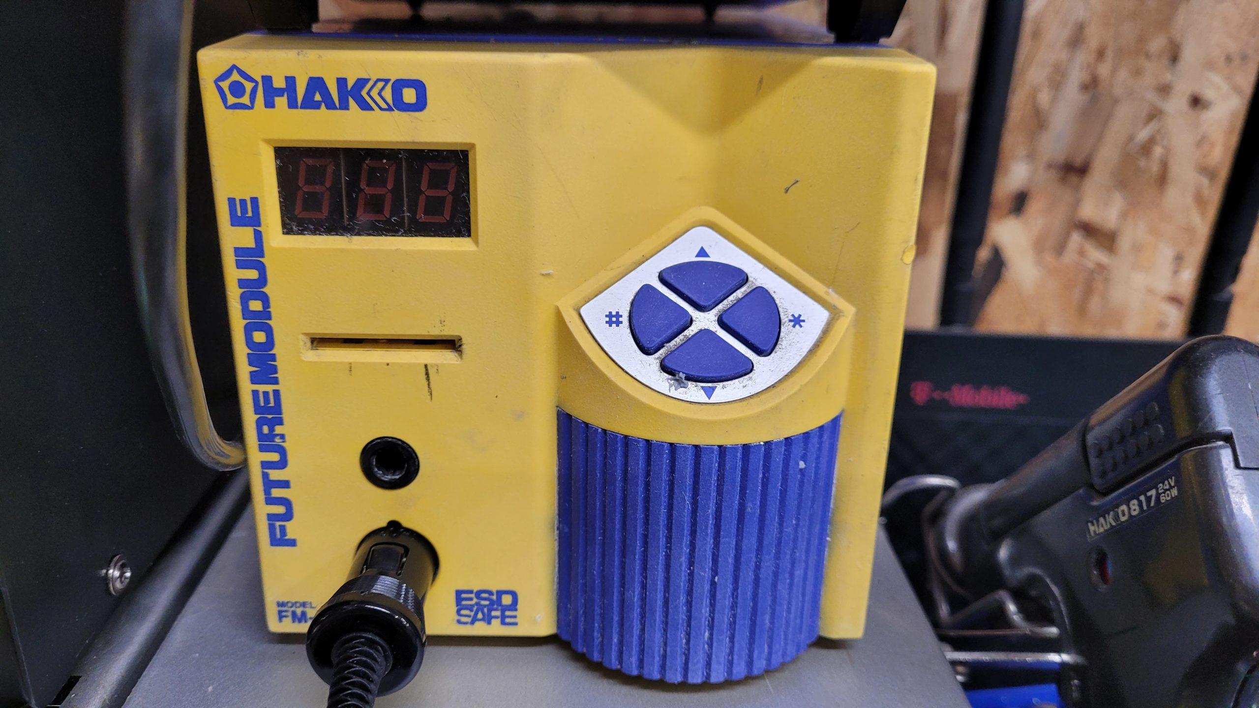 Hakko FM-202 Soldering Station Future Module